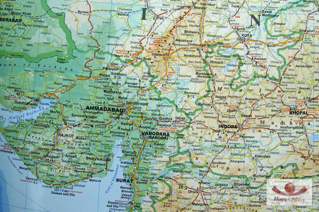 Indie Mapa