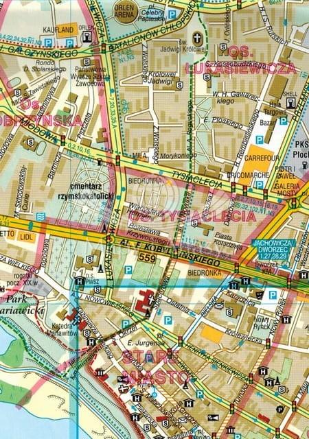 Plock Mapa Skladana Samochodowa Demart