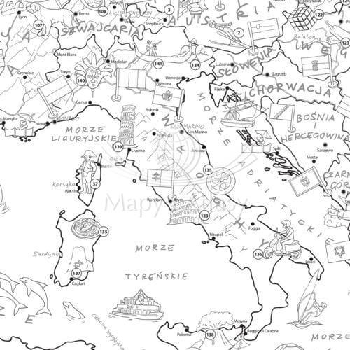 Europa Kolorowanka Xxl Mapa Mlodego Odkrywcy