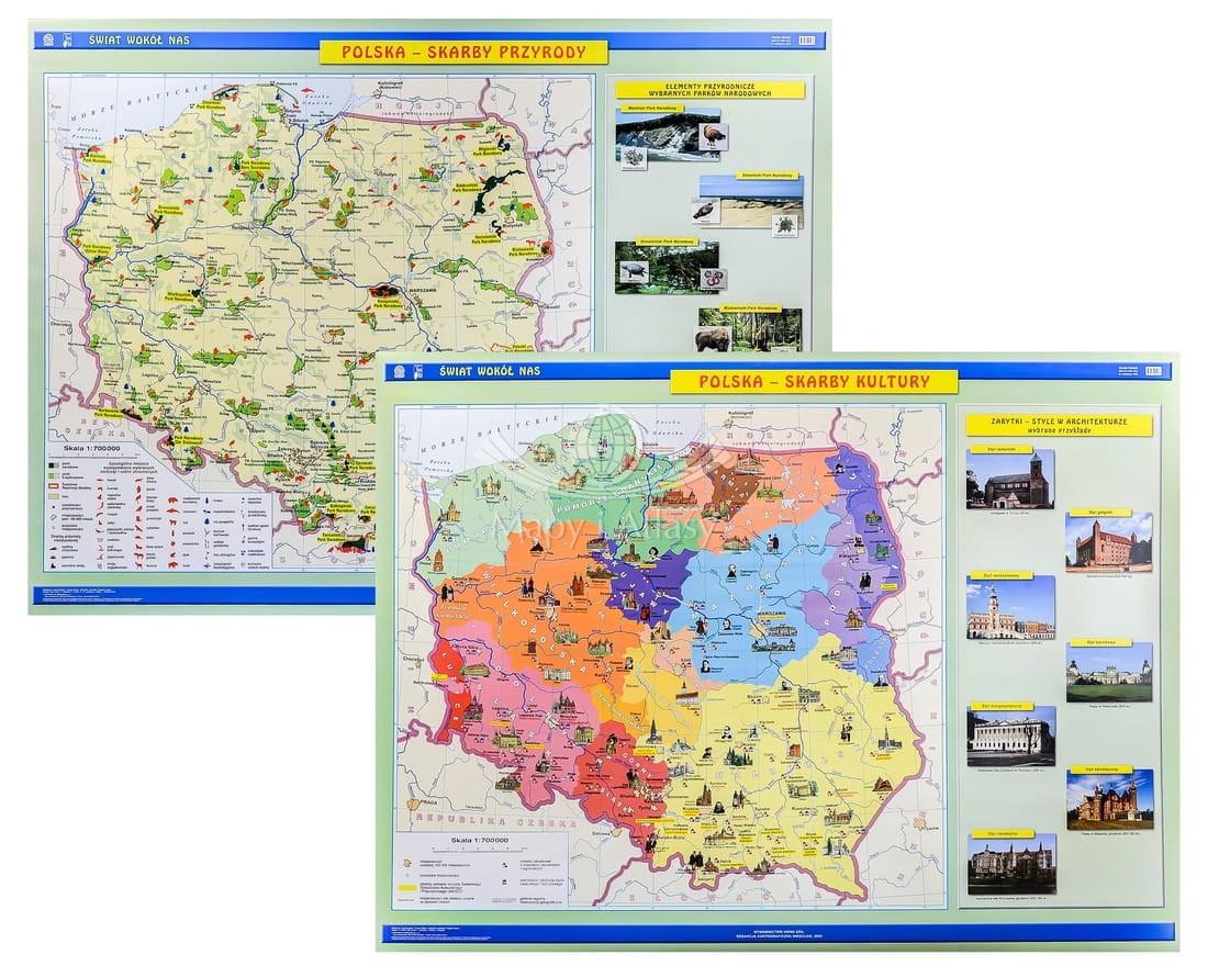 Mapa Atrakcji Turystycznych Polski Mapa Atrakcji Turystycznych