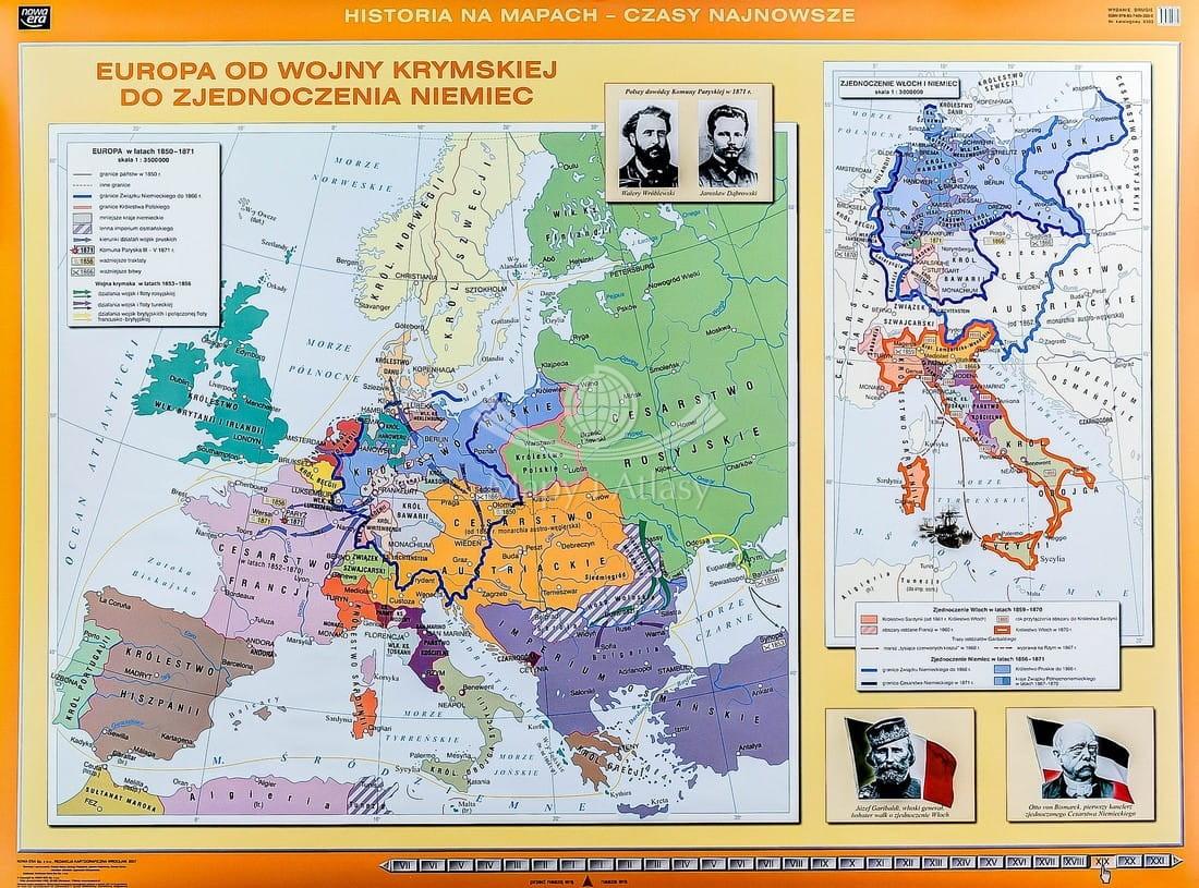 Europa Przed I Wojna Swiatowa Mapa Scienna