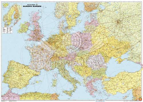 Europa Polityczna Mapa Skladana Fb