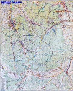 Mapy ścienne Regionów Polski