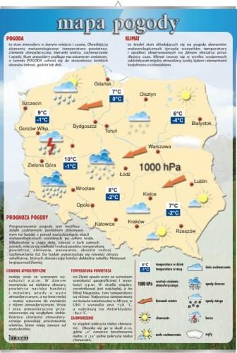 Mapa Pogody Plansza Edukacyjna