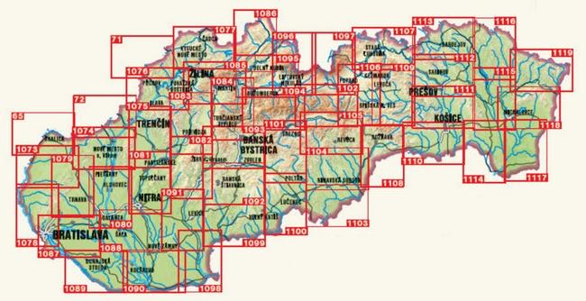 Mapy Turystyczne Slowacji Przeglad Tytulow